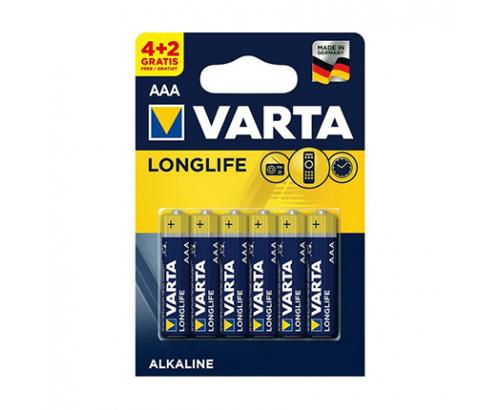 Батерии Варта ААА 4+2бр Лонглайф
