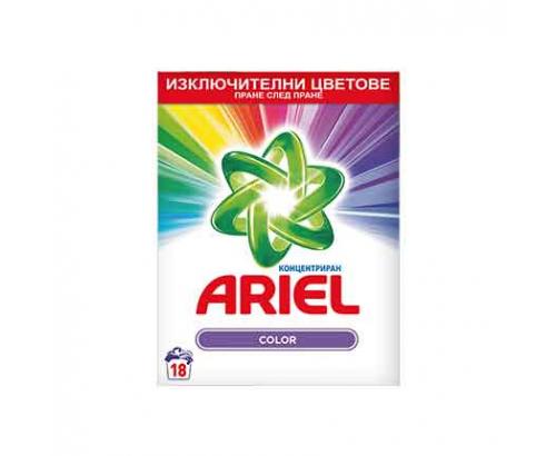 Прах за пране Ариел 1,17кг Цветно