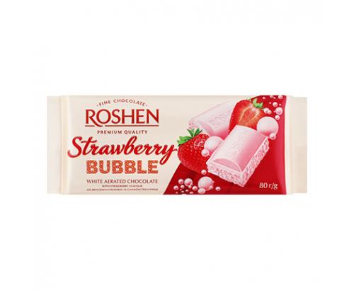 Шоколад Рошен Бабъл 80г Ягода