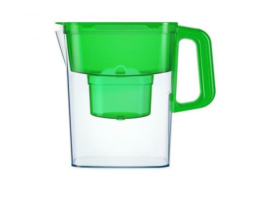 Филтрираща кана Аквафор Компакт 2,4л Зелена