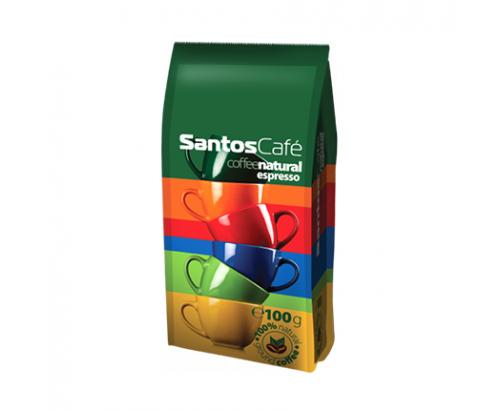 Мляно кафе Сантос Натурал 100г