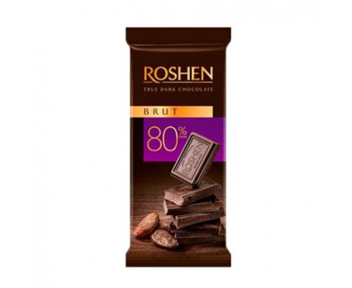Шоколад Рошен 90г Дарк 80%