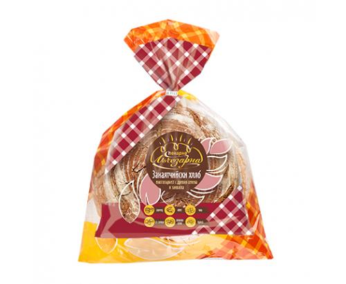 Хляб Занаятчийски Пекарна Лъчезарна 600г Многозърнест