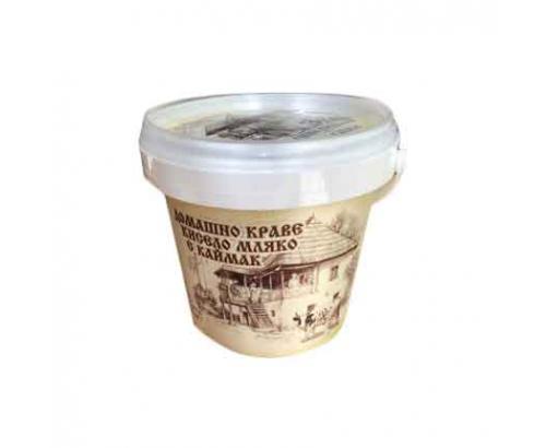 Домашно кисело мляко с каймак Бор Чвор 4,5% 500г