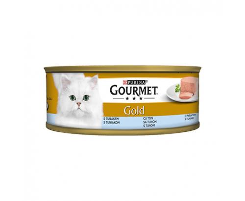 Храна за котки Гурме Голд 85г Пастет Риба Тон