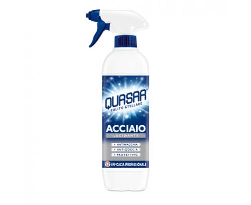 Почистващ препарат Куасар 650мл неръждаема стомана