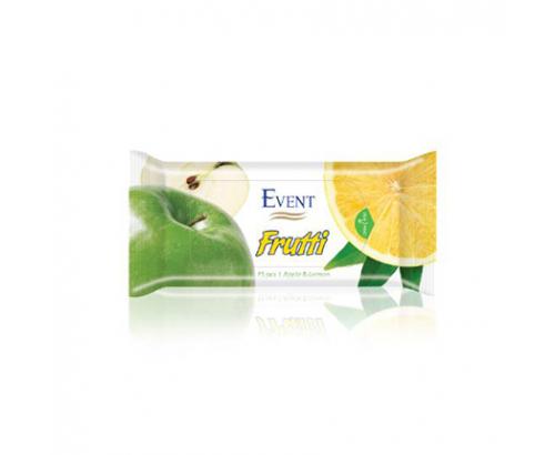 Мокри кърпи Ивент 15бр Ябълка и лимон