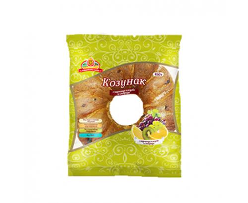 Козунак Добруджански Хляб 500г С плодове и стафиди