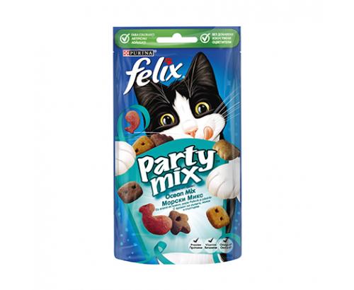 Лакомство за котки Феликс Парти Микс 60г Океан микс