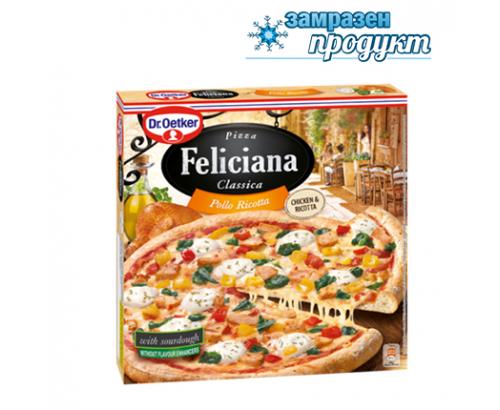 Пица Д-р Йоткер Феличиана 335г Пиле и Рикота