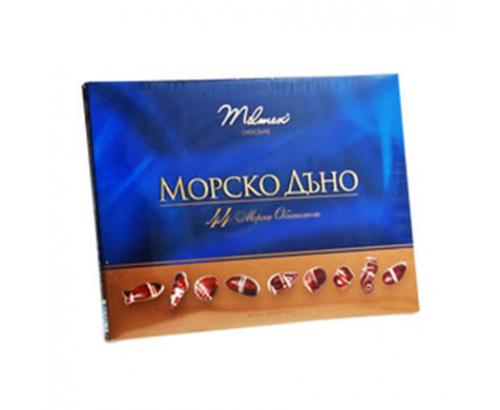 Шоколадови бонбони Милмекс 284г Морско Дъно