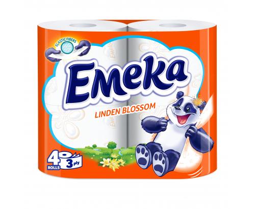 Тоалетна хартия Емека 4бр Линден