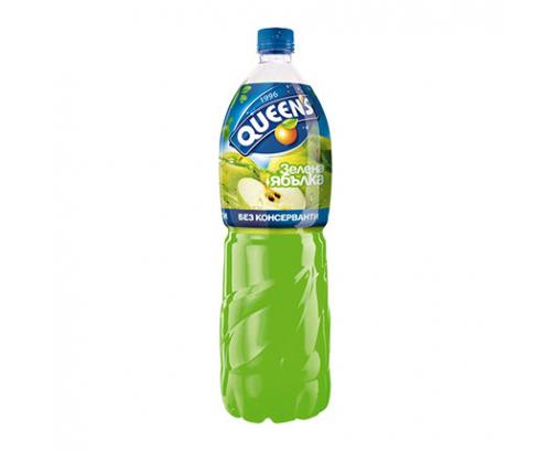 Напитка Куинс 2л Ябълка