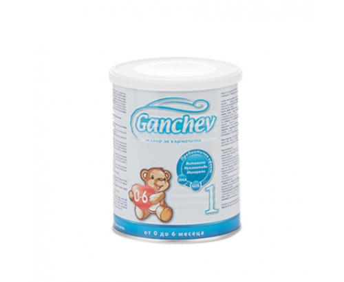 Адаптирано мляко Ганчев 400г 1 за кърмачета