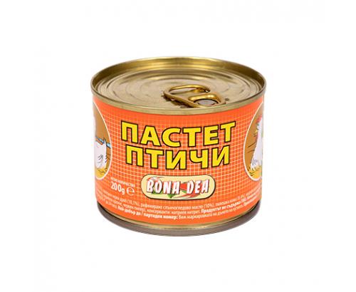 Пастет Бона Деа 200г Птичи