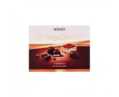 Шоколадови бонбони Рошен Комплимент 120г Тирамису