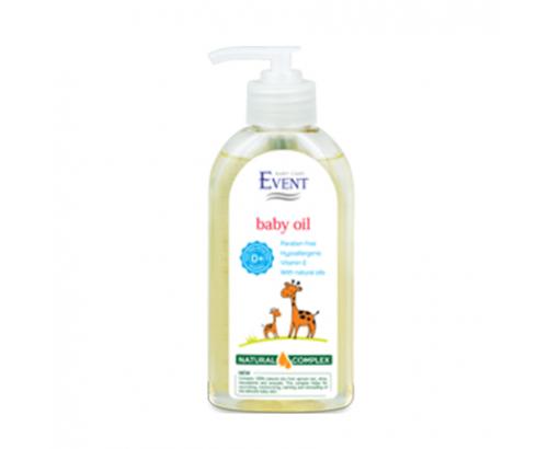 Бебешко олио Ивент 200мл С масло от кайсиеви ядки