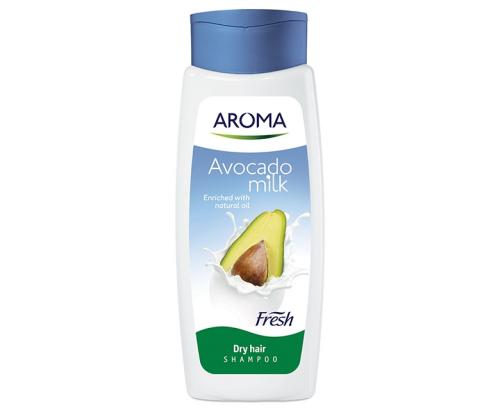 Шампоан Арома Фреш 400мл мляко и авокадо
