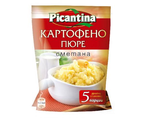 Картофено пюре Пикантина 135г Сметана
