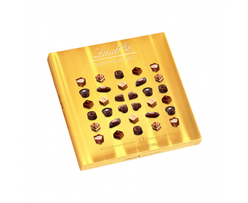 Шоколадови бонбони Линдт 155г Мини Пралинс