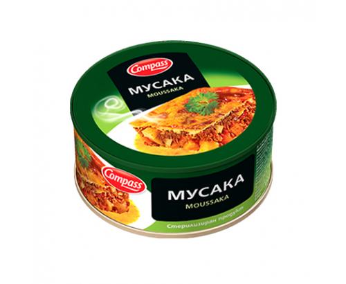 Мусака с месо Компас 300г