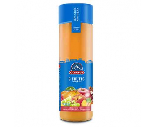 Натурален сок Олимпус 1л 9 плода