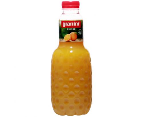 Натурален сок Гранини 1л Портокал 100%