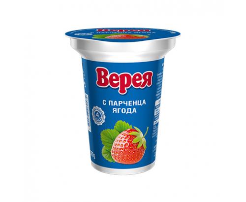 Плодово Мляко Верея 290г С парченца ягода