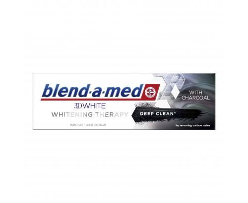 Паста за зъби Бленд а Мед 3D Уайт 75мл Чаркол