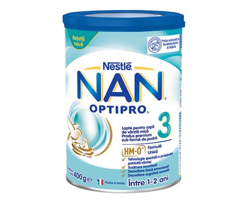 Адаптирано мляко Нан 400г 3