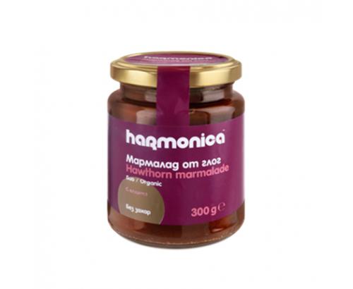 Био мармалад Хармоника 300г Глог без захар