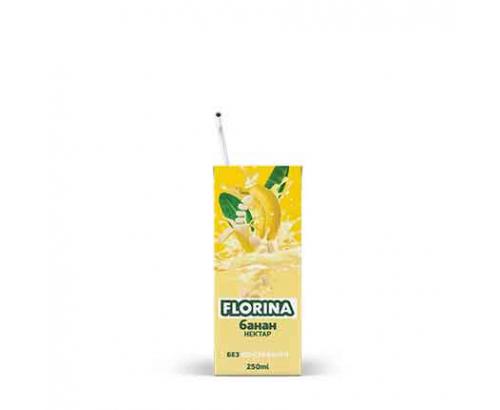 Нектар Флорина 250мл Банан