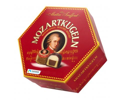 Шоколадови бонбонти Пралини Моцарт 300г Кръгли