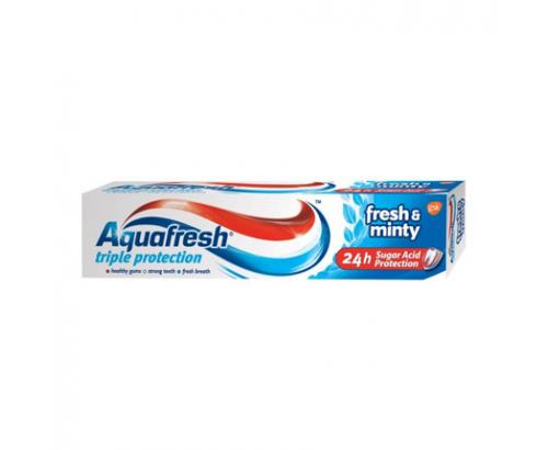Паста за зъби Аквафреш 100мл Тотал Синя