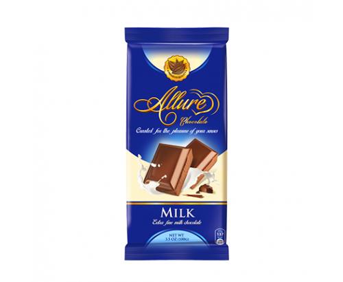 Шоколад Алюр 100г Млечен