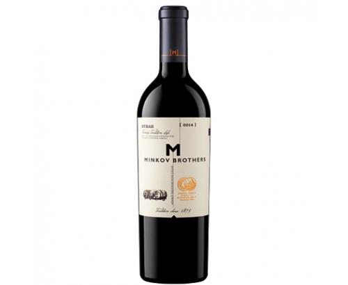 Вино Братя Минкови 750мл Сира