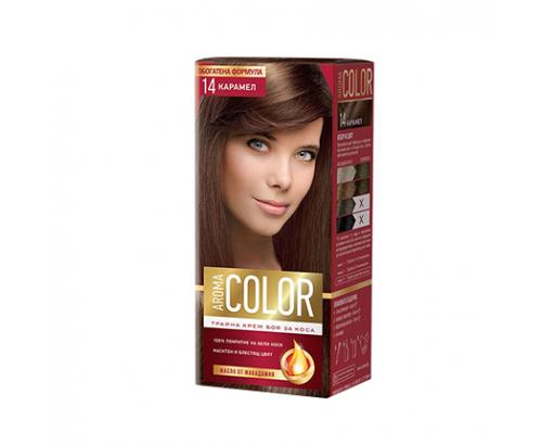 Боя за коса Арома Колор 14 Карамел