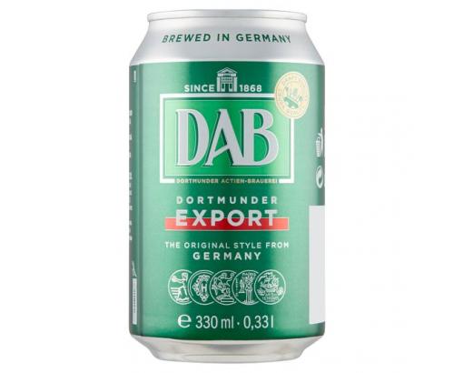 Бира Даб 5% 330мл кен