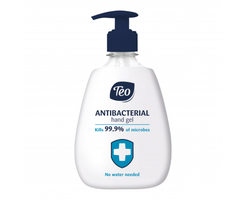 Антибактериален гел за ръце Тео 400мл Помпа