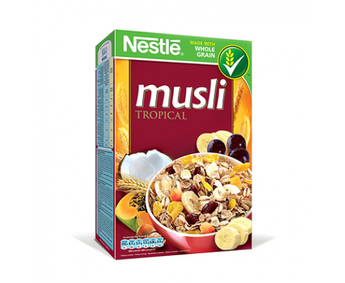 Зърнена закуска Нестле Мюсли 350г Тропикал
