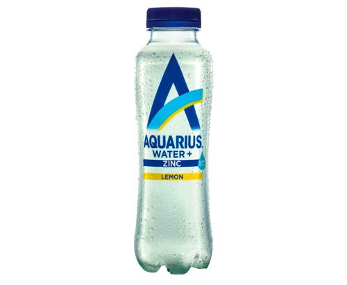 Вода Аквариус 400мл Цинк и Лимон
