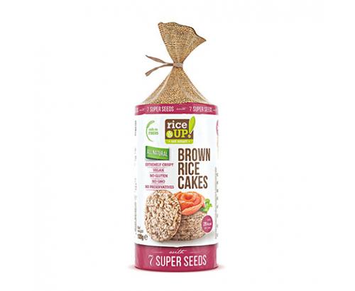 Бисквити от кафяв пълнозърнест ориз Райс Ъп 120г 7 Сепер Семена