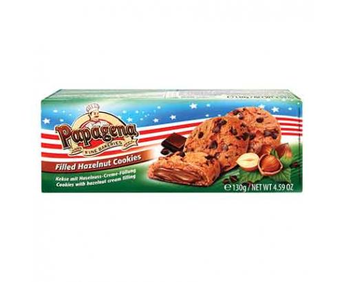 Бисквити Папагена 130г Кукис Шоколад и Лешник