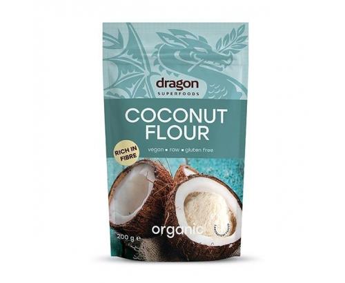 Био кокосово брашно Драгон Суперфуд 200г