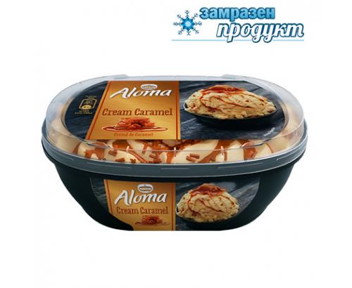 Сладолед Алома 900мл Крем Карамел
