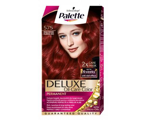 Боя за коса Палете Делукс 679 Наситено червено