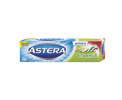 Паста за зъби Астера Актив 100мл Витамин 3
