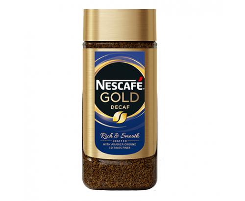 Разтворимо кафе Нескафе Голд 100г Без кофеин
