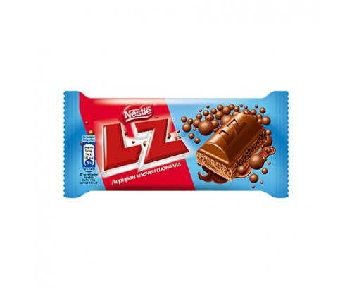 Аеро шоколад LZ 35г Млечен