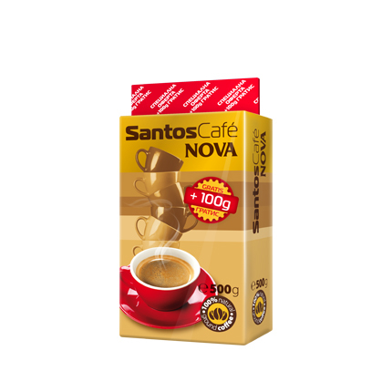 Мляно кафе Сантос Нова 400+100г